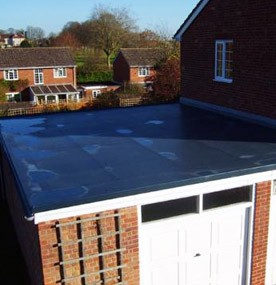 New GRP fibreglass roof
